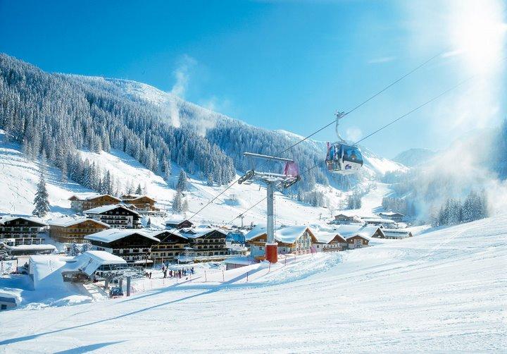 Skifahren-Zauchensee-Ski-Amade