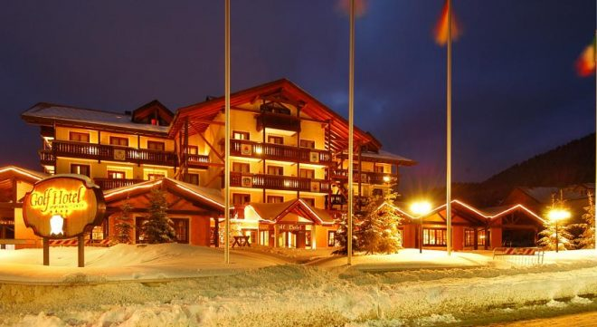 Hotel Golf Folgaria Italien